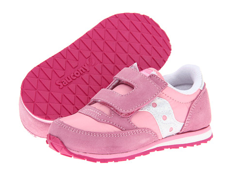 Saucony Kids - Baby Jazz HL (Toddler/Little Kid) (Pink/Sparkle) Girls Shoes