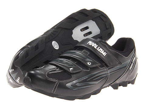 Pearl Izumi - All-Road II (Black/Silver) Men's Cycling Shoes