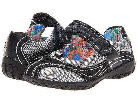 Hush Puppies Kids - Kensie (Toddler/Little Kid) (Black Multi) Girls Shoes