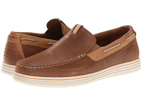 Dunham - Clay (Tan) Men's Slip on Shoes