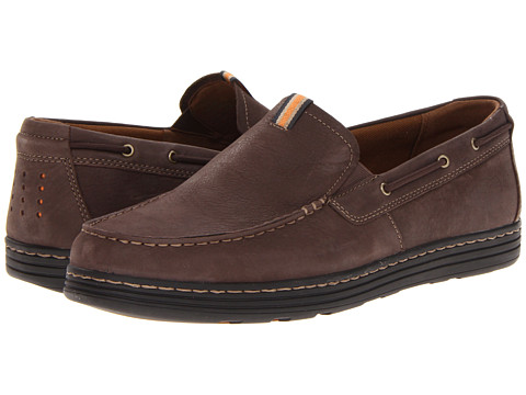 Dunham - Clay (Brown) Men's Slip on Shoes