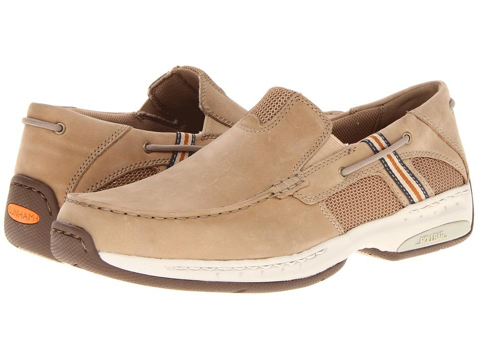 Dunham - Windward (Linen) Men's Slip on Shoes