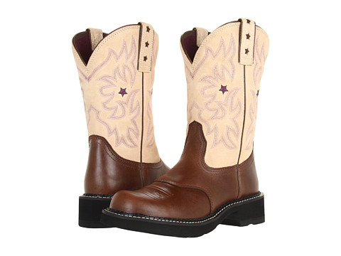 Ariat - Probaby (Brown Rebel/Cream) Cowboy Boots