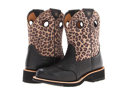 UPC 884849501900 - Ariat Fatbaby Cowgirl (Black Deertan/Leopard ...