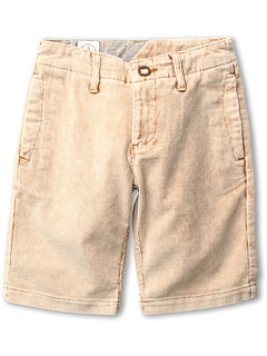 SALE! $14.99 - Save $40 on Volcom Kids Dorado Cord Short (Big Kids) (Hazelnut) Apparel - 72.75% OFF $55.00