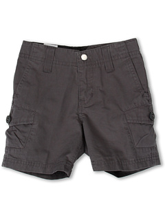 SALE! $14.99 - Save $37 on Volcom Kids Racket Cargo Short (Toddler Little Kids) (Shadow Grey) Apparel - 71.17% OFF $52.00