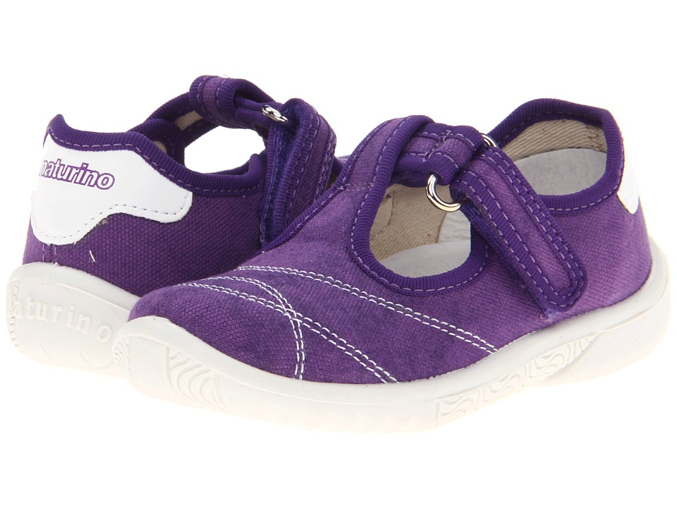 Naturino - Nat. 7742 (Toddler/Little Kid) (Purple) Girl's Shoes