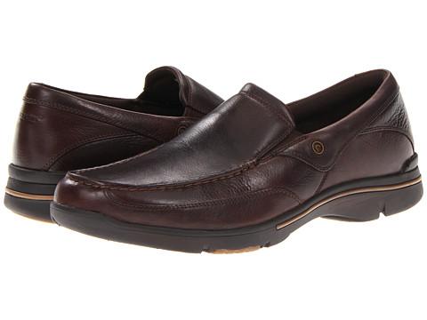Rockport - Eberdon (Dark Brown Leather) Men