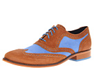Cole Haan - Air Colton Casual Wing Tip (Charro/Topaz Canvas) - Cole Haan Shoes