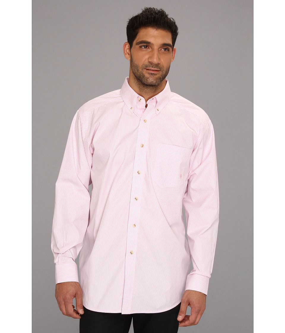 Ariat - Balin Shirt (Pink) Men's Long Sleeve Button Up