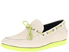 Cole Haan - Air Mason Camp Moc (Ivory/Garden Green) - Cole Haan Shoes