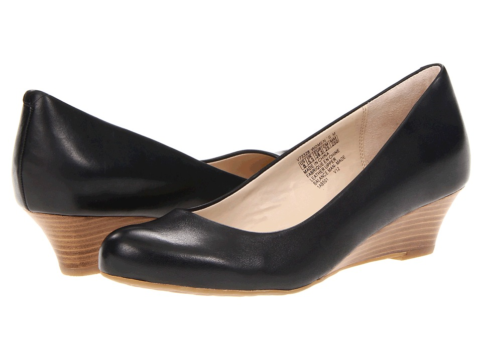 Rockport - Alika Pump (Black) Women's 1-2 inch heel Shoes