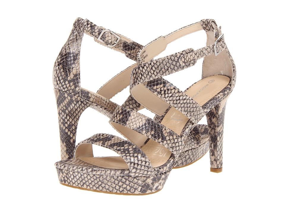Rockport - Janae Multi Strap (Natural) High Heels