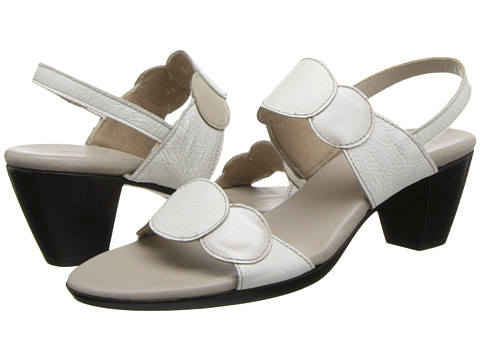 Munro American - Solar (Taupe Metallic Kid/White Patent) Women's Sandals