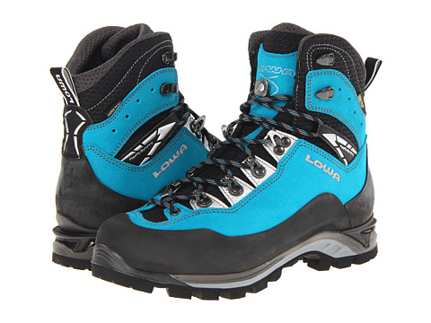 Lowa - Cevedale Pro GTX WS (Turquoise/Black) Women's Hiking Boots