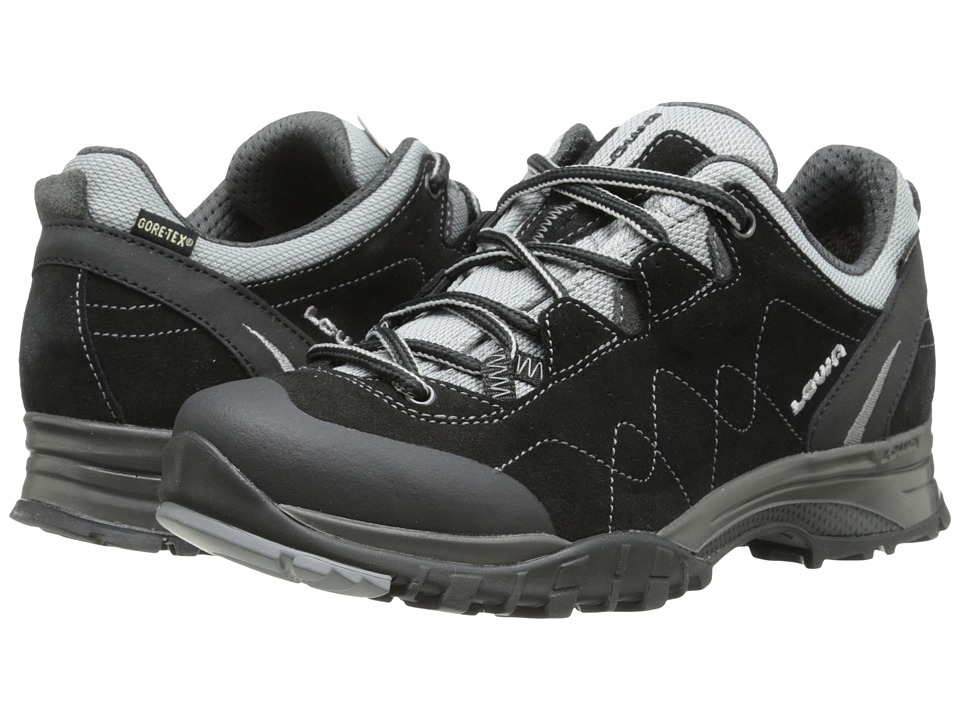 Lowa - Focus GTX Lo WS (Black/Silver) Women's Shoes