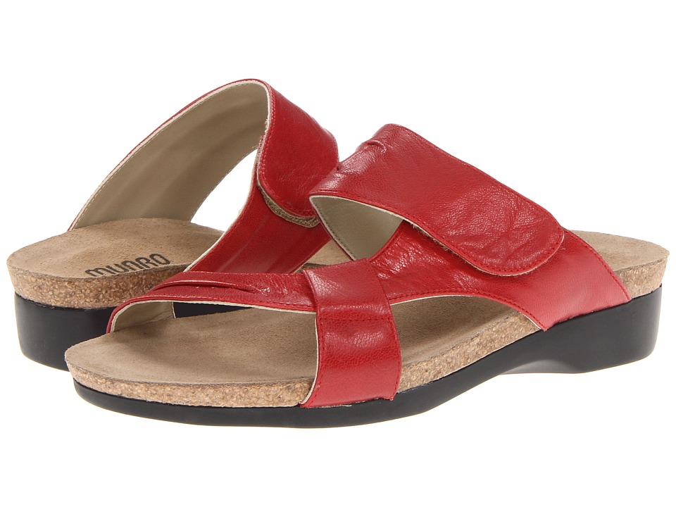 Munro American - Libra (Red Leather) Women's Sandals