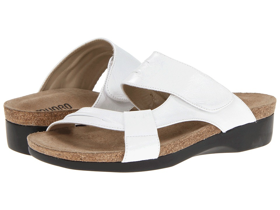 Munro American - Libra (White Leather) Women's Sandals