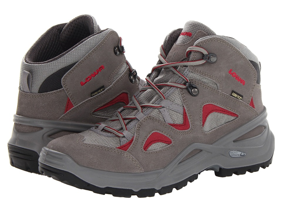 Lowa - Bora GTX Qc WS (Grey/Magenta) Women's Hiking Boots