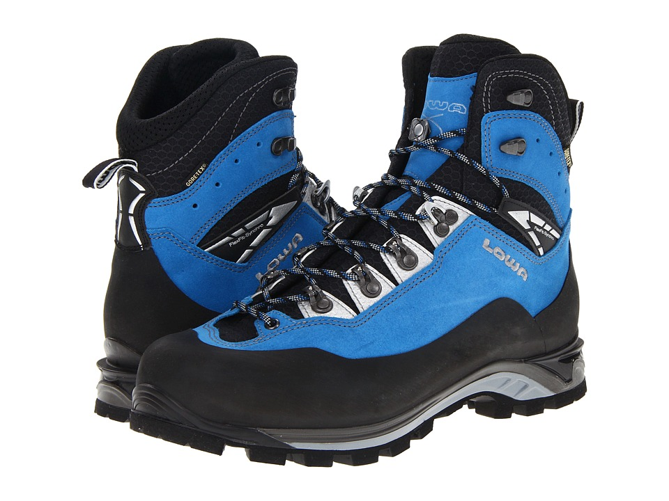 Lowa - Cevedale Pro GTX(r) (Blue/Black) Men's Hiking Boots