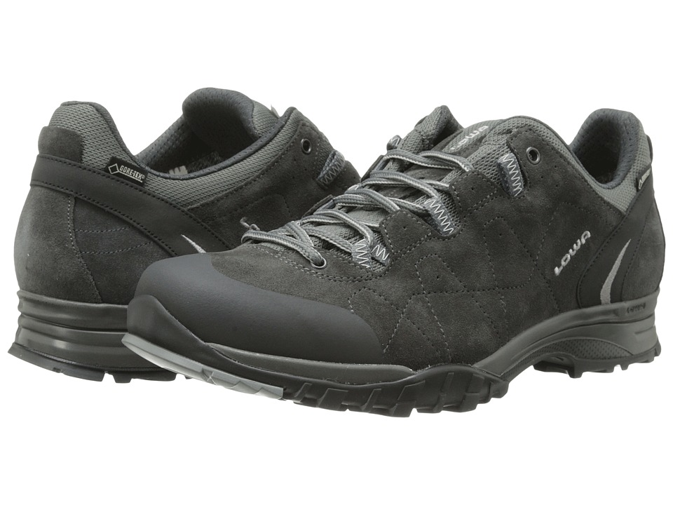 Lowa - Focus GTX Lo (Anthracite/Anthracite) Men's Hiking Boots