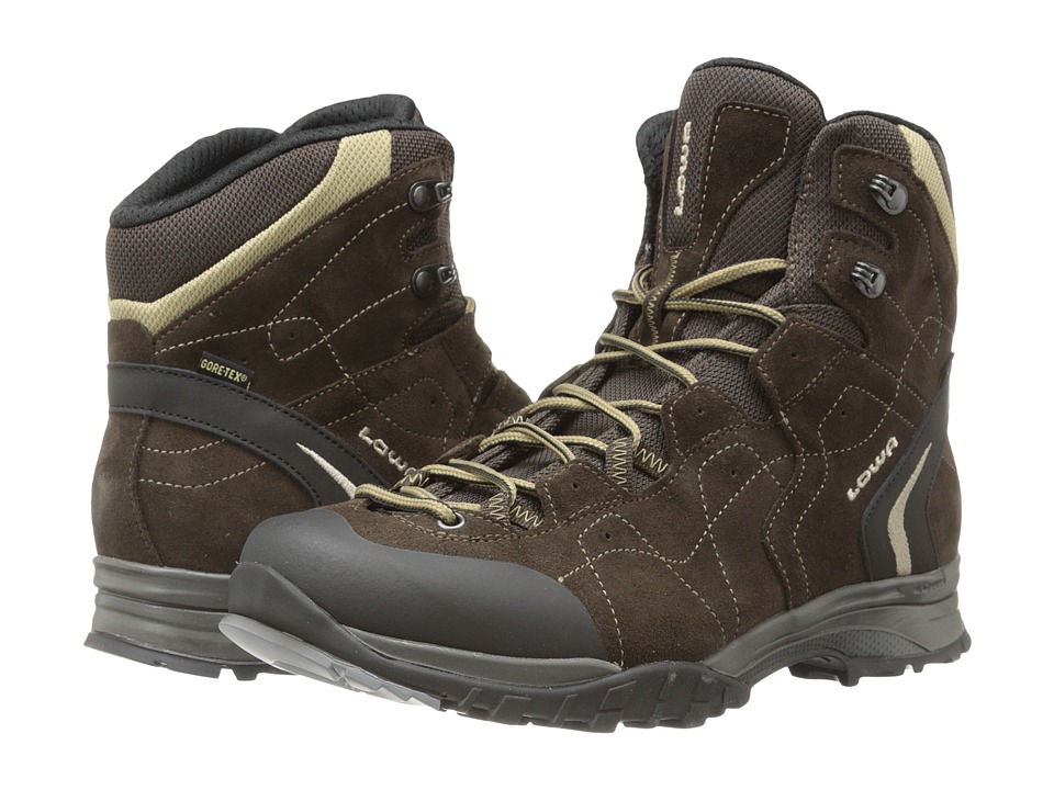 Lowa - Focus GTX Mid (Brown/Beige 2) Men
