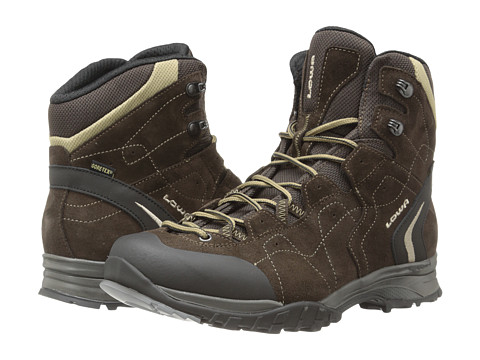 Lowa - Focus GTX Mid (Brown/Beige 2) Men's Hiking Boots