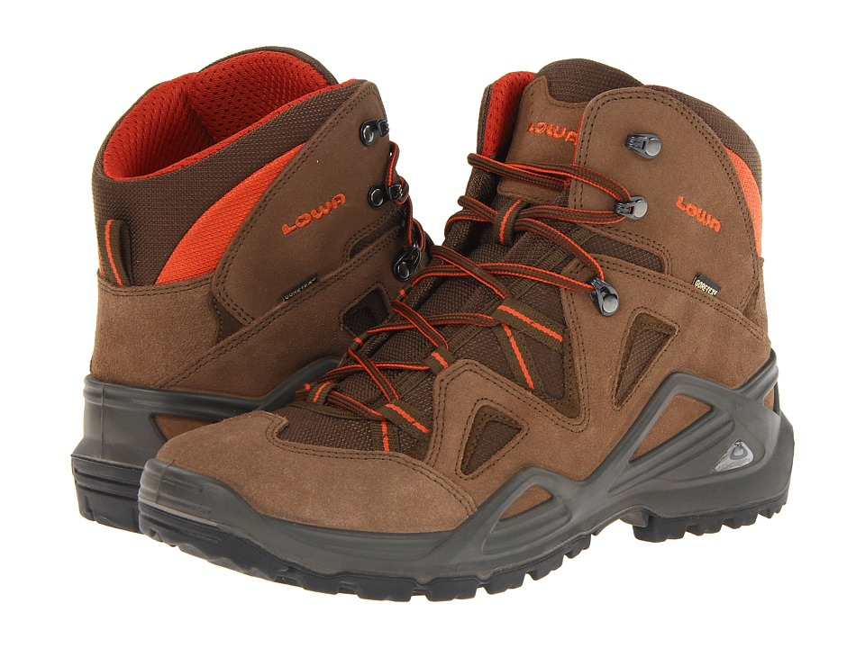 Lowa - Zephyr GTX Mid (Brown/Rust) Men