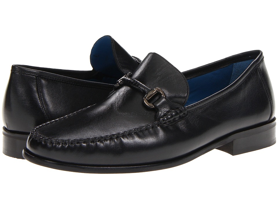 Florsheim - Sarasota Bit (Black Smooth Leather) Men's Slip-on Dress Shoes