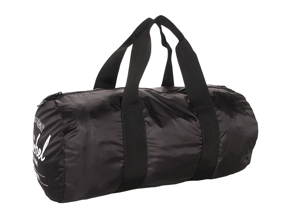 Herschel Supply Co. - Packable Duffle Bag (Black) Duffel Bags