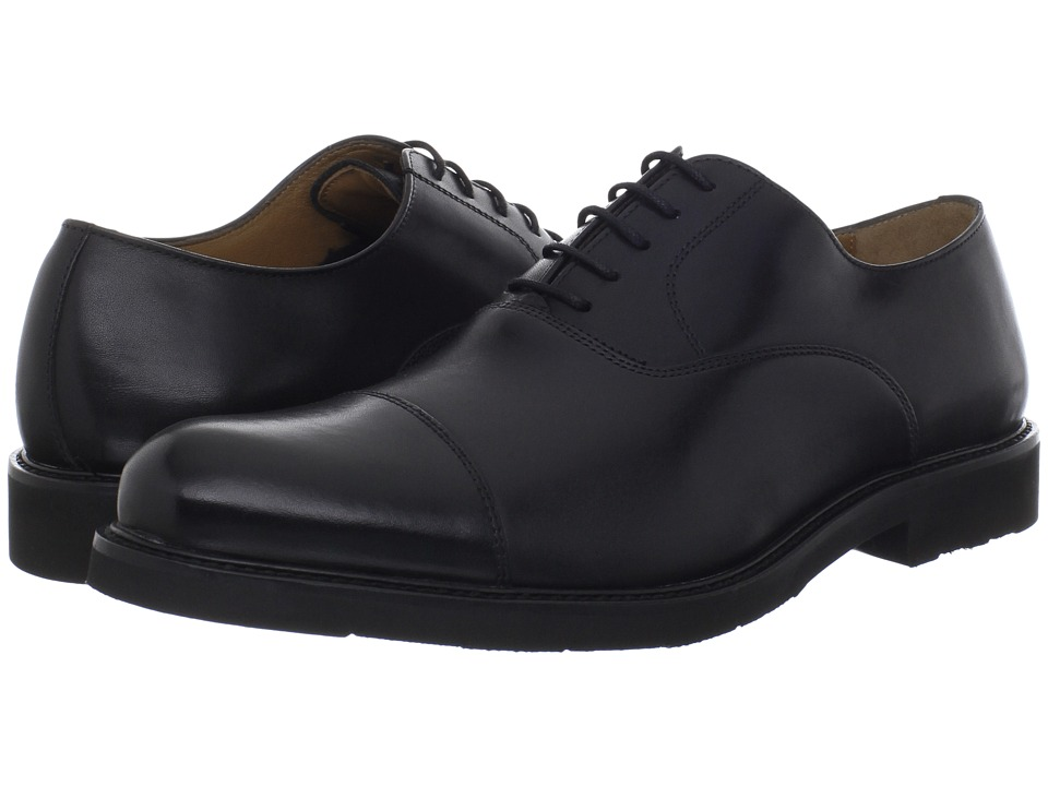 Florsheim - Gallo Cap Ox (Black) Men's Lace Up Cap Toe Shoes