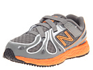 New Balance Kids KV890v3 (Infant/Toddler) (Grey/Orange)