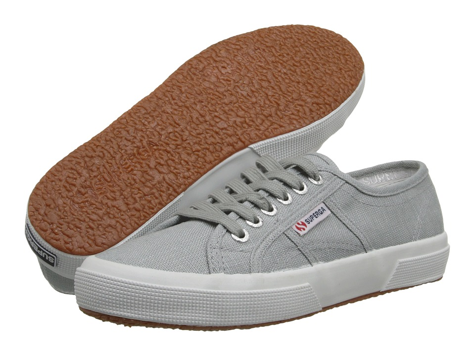 Superga - 2750 LINU (Light Grey) Lace up casual Shoes