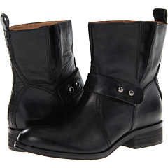 Spirit by Lucchese Olivia Short Boot (Black) Footwear