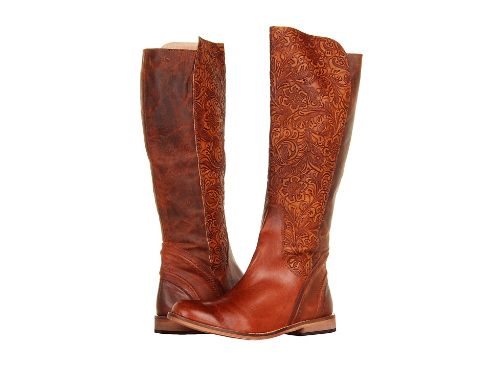 Lucchese - Virginia Boot (Luggage) Cowboy Boots