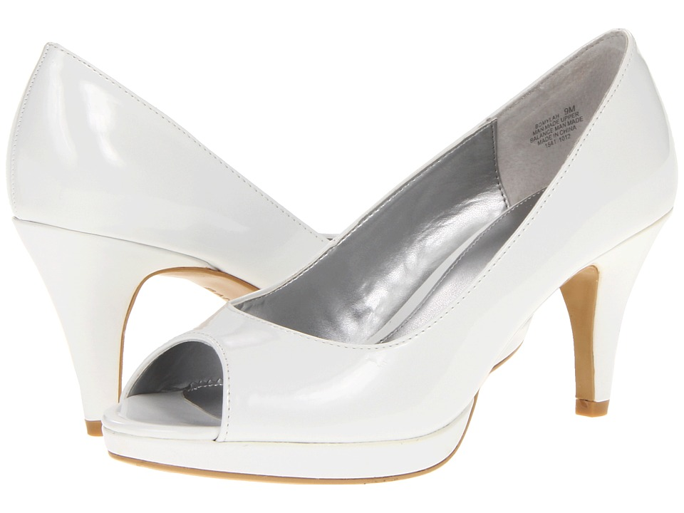 Bandolino - Mylah 5 (White Patent) High Heels