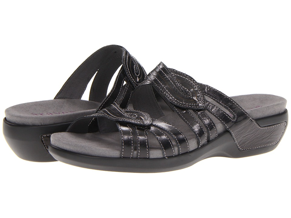Aravon - Kendall (Black Leather) Women