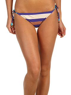 SALE! $41.99 - Save $34 on Marc by Marc Jacobs Vintage Stripe Pleated Side Tie Euro Bottom (Violet Bloom) Apparel - 44.75% OFF $76.00