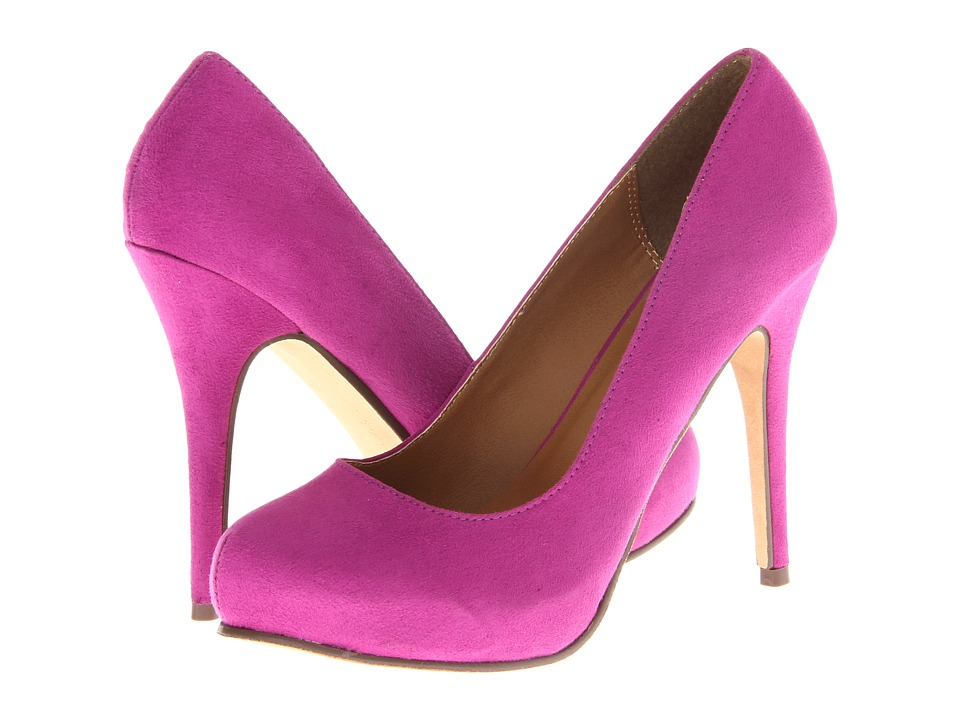 Michael Antonio - Love Me - Suede 2 (Raspberry) High Heels