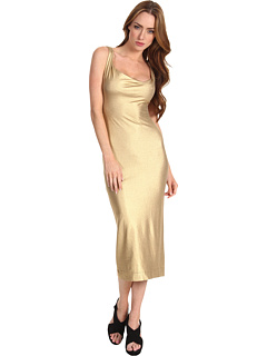 SALE! $256.99 - Save $315 on Vivienne Westwood Anglomania Liz Dress (Gold) Apparel - 55.07% OFF $572.00