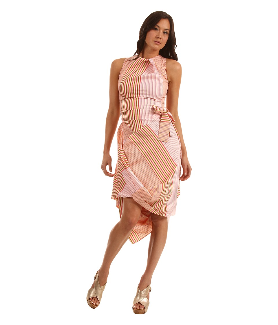 Vivienne Westwood Anglomania - Eight Dress (Pink/White) Women