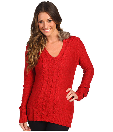 Fox - Glorious Sweater (Dark Red) Women's Sweater