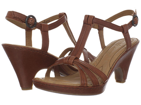 Born - Myndy - Crown Collection (Mogano (Dark Brown) Veg) High Heels