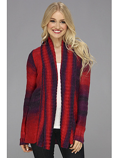 SALE! $29.99 - Save $57 on Fox Glimmer Cardi (Dark Red) Apparel - 65.33% OFF $86.50