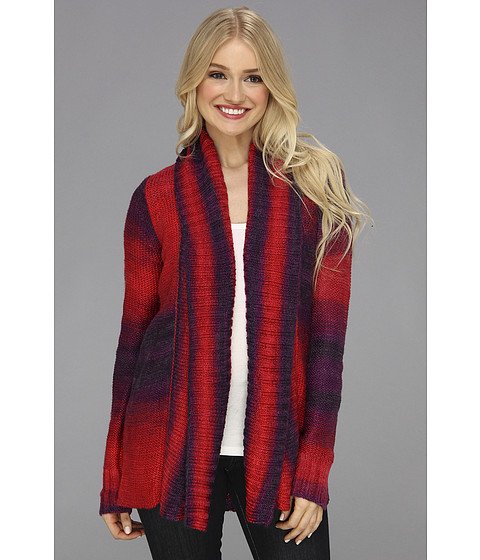 Fox - Glimmer Cardi (Dark Red) Women