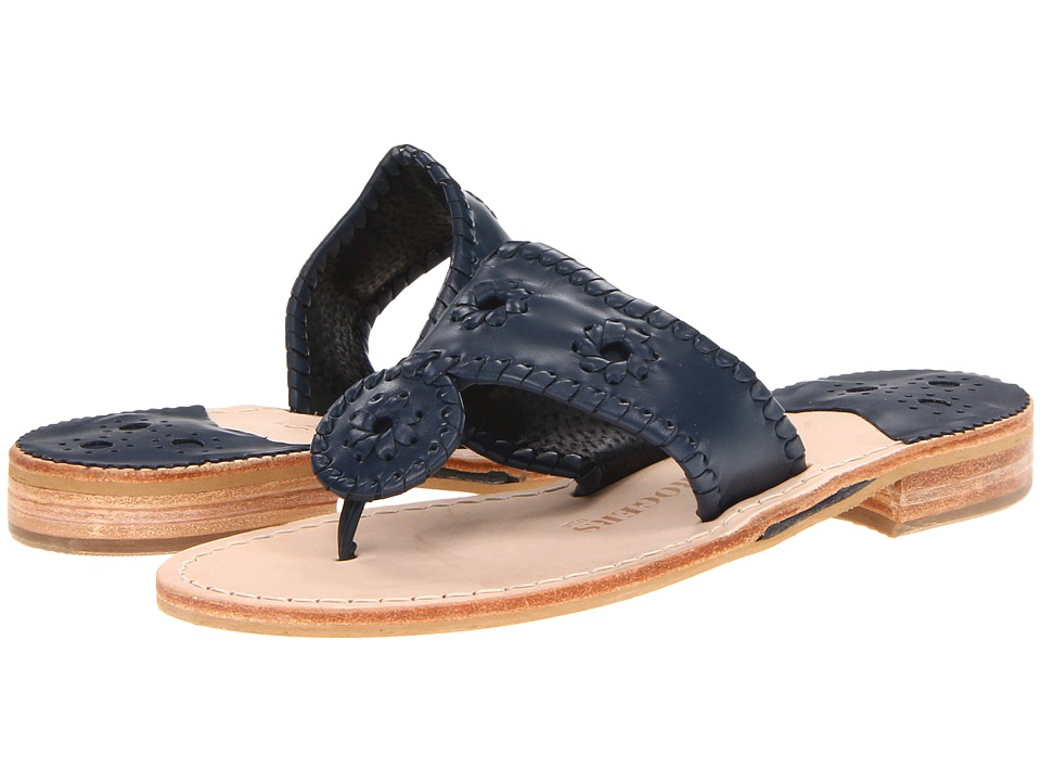 Jack Rogers - Nantucket (Midnight) Women's Sandals