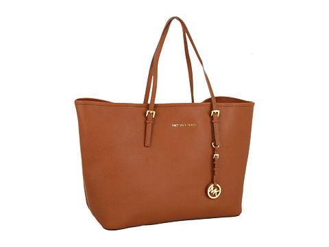 MICHAEL Michael Kors - Saffiano Medium Travel Tote (Luggage) Tote Handbags
