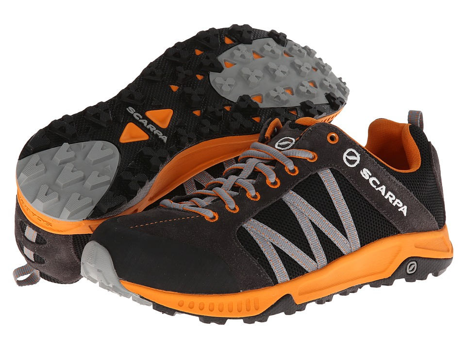 Scarpa - Rapid LT (Black/Orange) Men's Shoes
