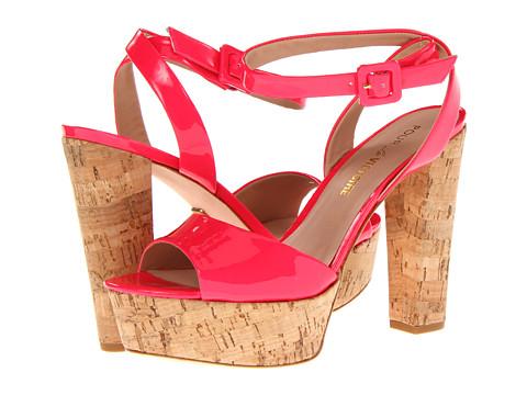 Pour La Victoire - Nasha (Neon Pink Soft Patent) High Heels