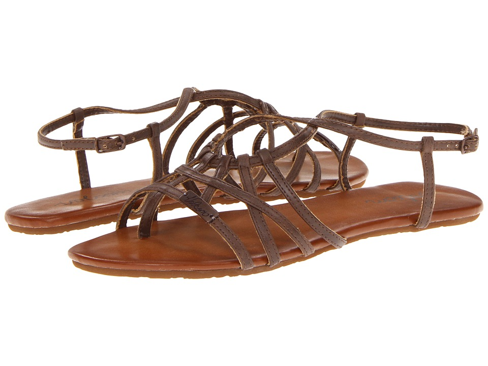Volcom - No Sweat Creedler (Brown) Women's Sandals